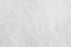 Weißer Gewebebeschaffenheitshintergrund Lizenzfreie Stockbilder