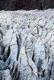 Weißer Gletscher in Pakistan stockbilder