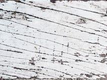 Weißer hölzerner Hintergrund Stockbild