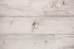 Verwittertes weißes Holz Stockfoto