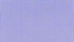 weißer Hintergrund mit blauen Punkten Stockfotos