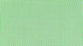 weißer Hintergrund mit grünen Punkten Stockfotos