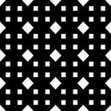 Weißer Hintergrund und Schwarzes repeted Punktmuster Stockfoto