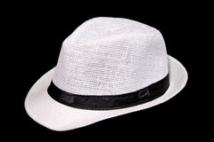 Weißer Hut Stockfoto