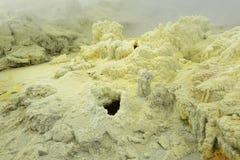 Weißer Insel Sulpher-Frühling Lizenzfreies Stockfoto
