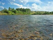 Weißer Ius Fluss Stockfotos