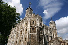 Weißer Kontrollturm, Tower von London stockbilder