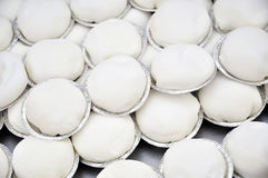 Weißer Kuchen Lizenzfreies Stockbild