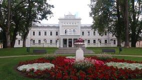 Weißer Landsitz Lizenzfreies Stockbild
