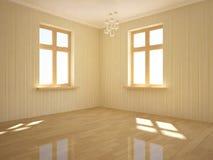 Weißer leerer Raum Stockfotos