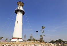 Weißer Leuchtturm Lizenzfreie Stockbilder