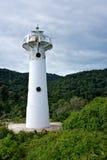 Weißer Leuchtturm Lizenzfreie Stockfotografie