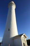 Weißer Leuchtturm Lizenzfreie Stockfotos