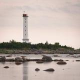 Weißer Leuchtturm Stockfoto