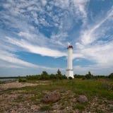 Weißer Leuchtturm Lizenzfreies Stockbild