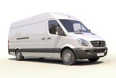 Weißer Lieferwagen Lizenzfreies Stockbild