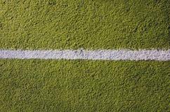 Weißer Markierungshintergrund des synthetischen Sportnicken Stockbild