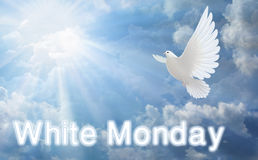 Weißer Montag Lizenzfreie Stockfotos