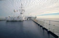 Weißer Morgen Stockbild