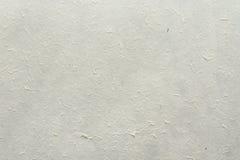 Weißer natürlicher Büttenpapierhintergrund Lizenzfreies Stockfoto