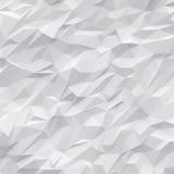 Weißer Polygonhintergrund Stockbild