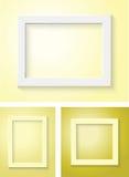 weißer Rahmen lizenzfreie stockbilder