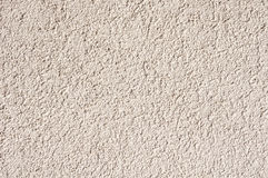 Weißer rauer Gips auf Wandnahaufnahme Lizenzfreies Stockfoto