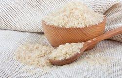 Weißer Reis Stockfoto