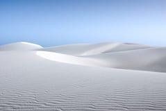 Weißer Sand stockfoto
