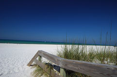 Weißer Sand Strand Stockbilder