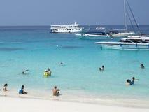 Weißer Sand-Strand, Khao Lak Lizenzfreies Stockfoto