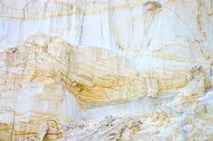 Weißer Sandhintergrund Stockbild