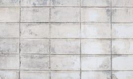 Weißer Schmutzbacksteinmauerhintergrund stockfoto