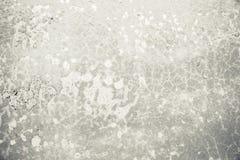 Weißer Schmutzbetonmauer-Beschaffenheitshintergrund, Zementbeschaffenheit stockfoto