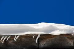 Weißer Schnee Stockfotografie