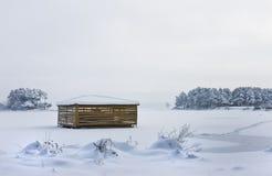 Weißer Schnee Lizenzfreies Stockbild