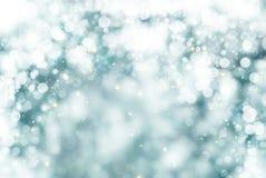 Weißer Schnee fallender grafischer bokeh desgin Hintergrund Lizenzfreie Stockbilder
