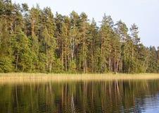 Weißer See Lizenzfreie Stockfotos