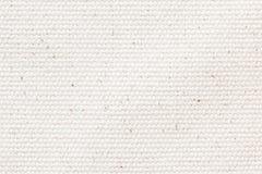 Weißer Segeltuchbeschaffenheitshintergrund stockbild