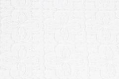 Weißer Spitzehintergrund Stockbild