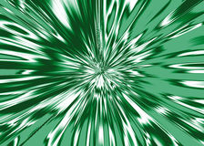 Weißer Stern bursty vom Hintergrundgrün Lizenzfreie Stockfotografie