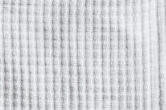 Weißer Stoff Stockbild