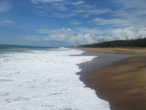Weißer Strand Stockfotos