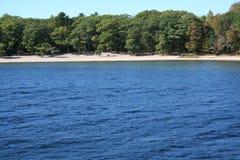 Weißer Strand Lizenzfreies Stockfoto