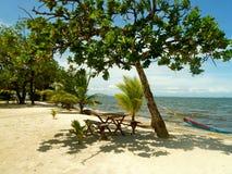 Weißer Strand - Guatemala Lizenzfreie Stockbilder