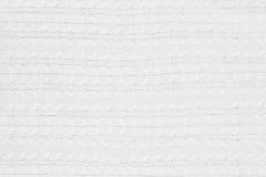 Weißer Strickjacken-Hintergrund Lizenzfreie Stockfotografie