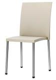 Weißer Stuhl Stockfoto
