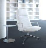 Weißer Stuhl Lizenzfreie Stockfotos