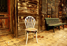 Weißer Stuhl Stockbilder