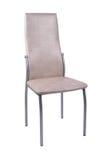 Weißer Stuhl lokalisiert auf weißem Hintergrund lizenzfreie stockbilder